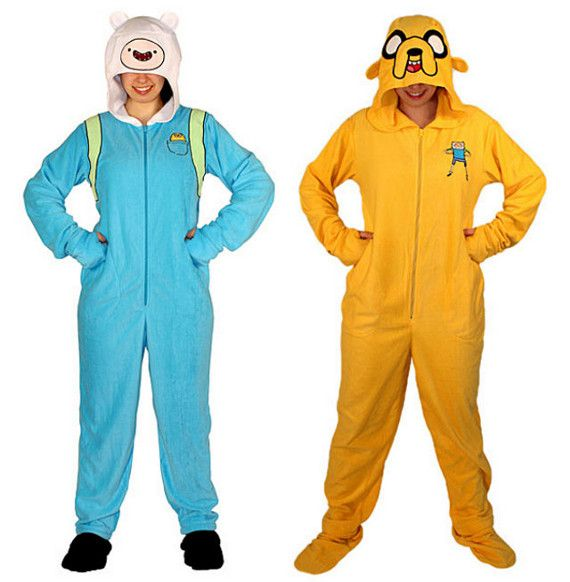 Adventure Time Footie Pajamas For Adults! #IncredibleThings