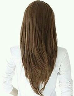 v shaped haircut front view - photo #10