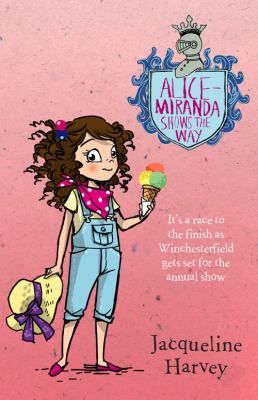 Alice-Miranda has a birthday to celebrate and a village show to look forward to! One of the highlights of the Winchesterfield show is the Queen's Cup horserace. But Aunty Gee's prize racehorse, Rockstar, is refusing to leave the stables. That is, until Alice-Miranda introduces him to her own naughty pony, Bonaparte.