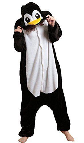 Kingdred Adulte Pyjama Femme Homme Animal Costume Cosplay Combinaison Une pièce Flanelle Outfit Fleece Halloween Fête Vêtements de nuit…