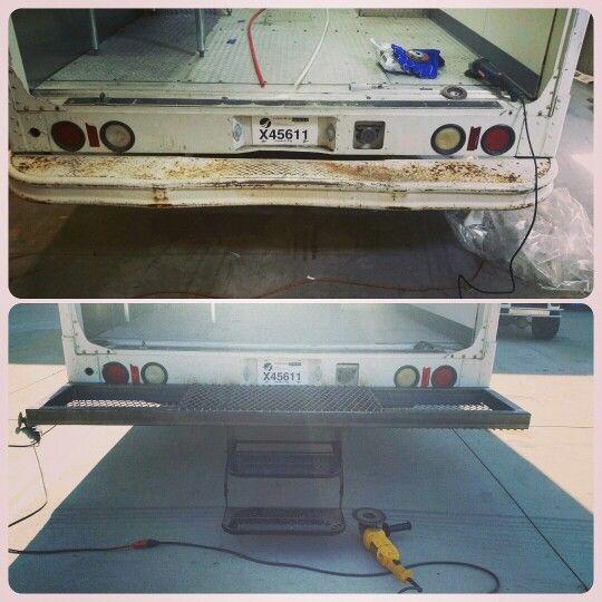 Best Custom Built Rear Bumper For A Food Truck Www Jackofalltradesbygeorge Com With Images Food 400 x 300