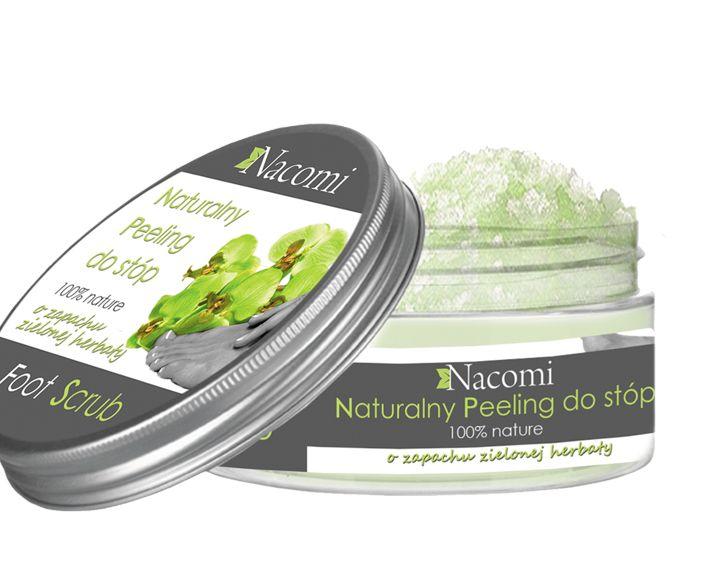 Cukrowy peeling do stóp o zapachu zielonej herbaty - Nieprzyzwoicie naturalny sklep dla kobiet lubiących siebie