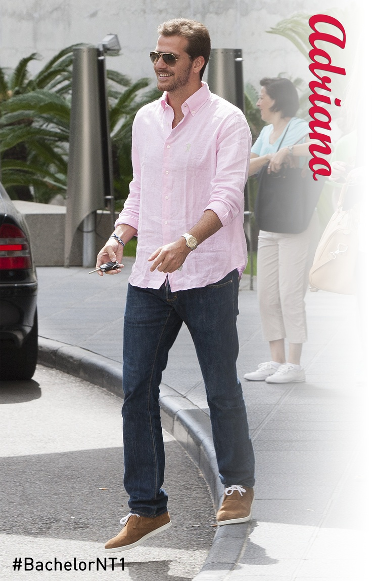 Adriano style casual friendly  #jean #chemise #sunglasses #montre