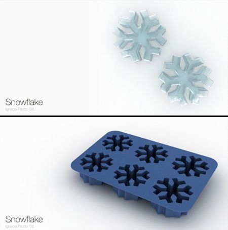 Snowflake Ice Cube Tray and lots of other fun shapes!