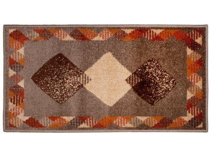 Alfombra Frise Amelia marrón | Revitex tiendas textil-hogar