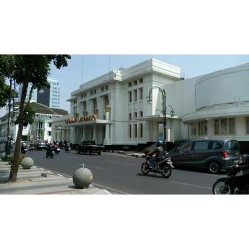 Gedung Merdeka, Bandung, Indonesia. Heritage Bandung at Asia Africa Street
