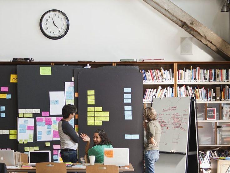 IDEO: movable foam boards
