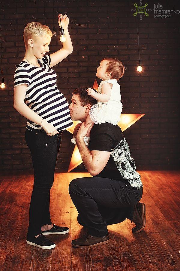 Фотосессия беременности, студийная фотосъемка беременных Киев