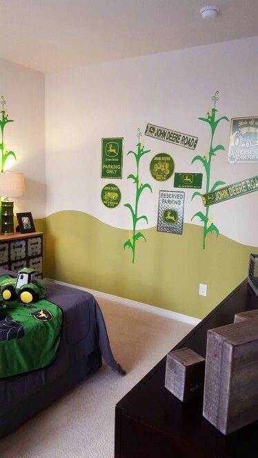 25 best ideas about tractor bedroom on pinterest boys for John deere bedroom ideas