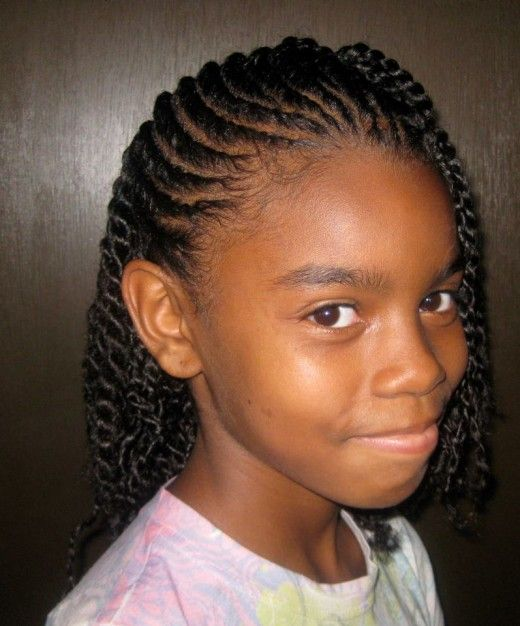 Braided Hairstyles For Young Black Girls Natural