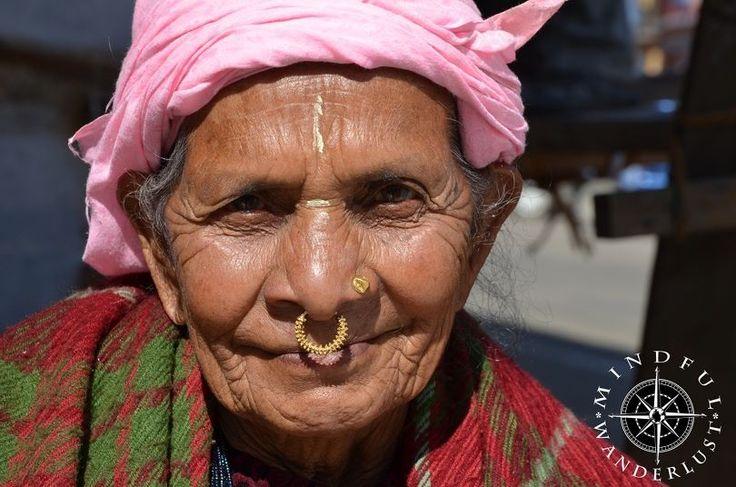 Beautiful Nepali-Bhutanese woman