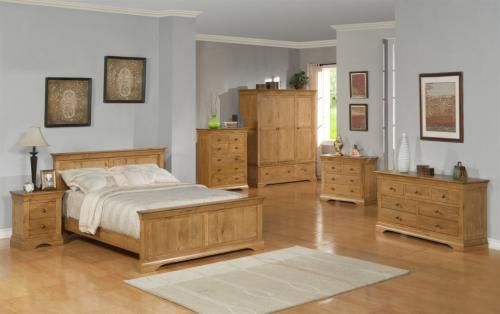 French Oak Bedroom Furniture