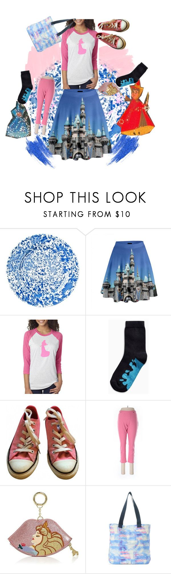 """One giant mess"" by lerp ❤ liked on Polyvore featuring Kate Sheridan, Converse, Danielle Nicole and Love This Life"