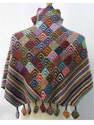 Irina's Shawl Knit Pattern