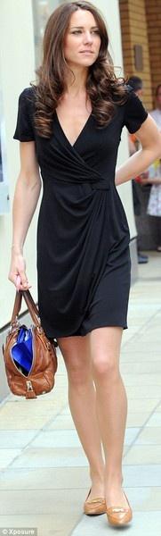vestido negro Kate Middleton looks so perfect!