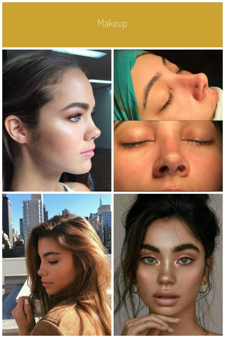 Makeup in 2020 Rhinoplasty nose jobs, Perfect nose, Nose job