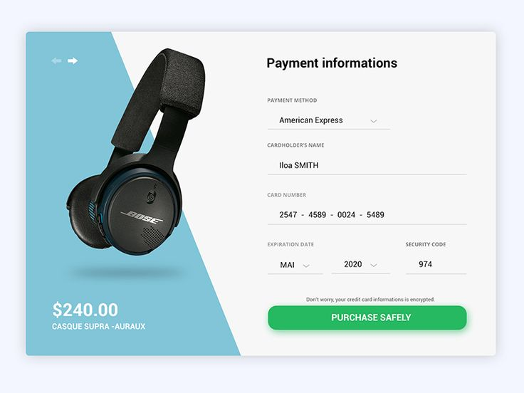 FREE Checkout - Daily UI #002