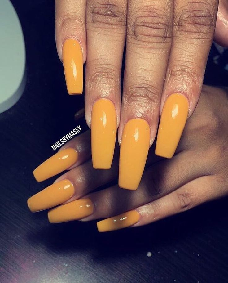 solid color nails ideas