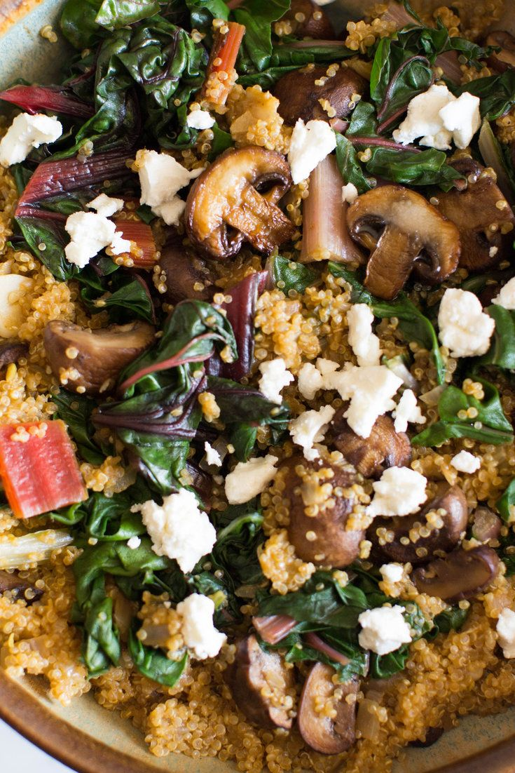 NYT Cooking: This versatile salad, or pilaf, may be construed as a home cook's answer to a fast-casual lunch bowl. But it does not need to be piled high with a freewheeling array of additional ingredients. As it is, this could be a stand-alone first course, a lunch dish or a side to serve alongside meat or seafood. Serve it hot, warm or at room temperature. The quinoa adapts%...