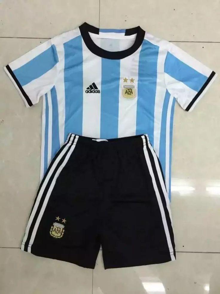 Argentina 2016 Home Kids Uniform