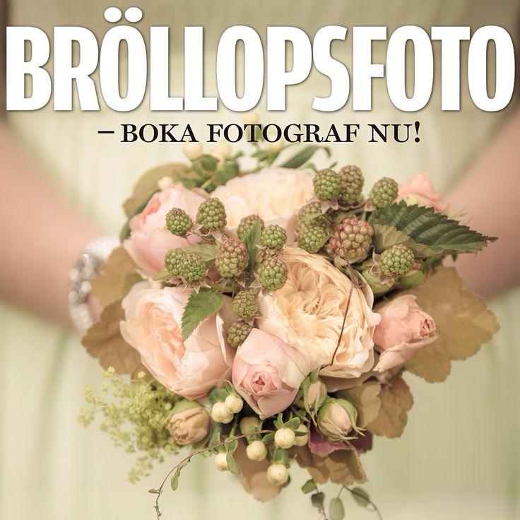 Fånga er speciella dag!  Jag är med er allt från några timmar för de traditionella bröllopsbilderna, vigsel och mingel,  till större delen av dagen för att fånga morgonens påklädning och frisörbesök till minglet bland släkt och vänner på festen. Kontakta mig gärna så vi kan diskutera vilket upplägg som passar just er!  www.obfoto.se info@obfoto.se TEL: 0738 - 433 974