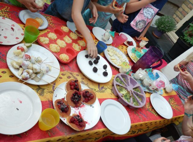 wel 8 glutenvrije hapjes op dit (glutenvrije) kinderkookfeestje