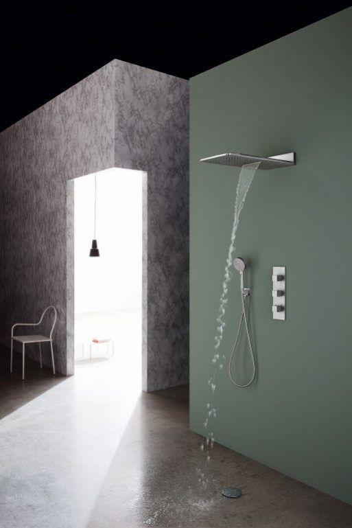 Die besten 25+ Duscharmatur Ideen auf Pinterest Messing - bad spiegel high tech produkt badezimmer
