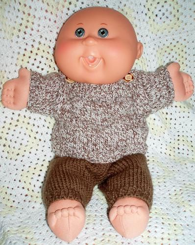 11 Best Cabbage Patch Clothes Images On Pinterest Doll Patterns