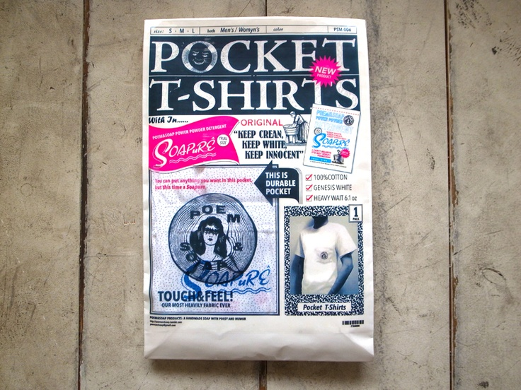 POCKET T-SHIRTS PACK