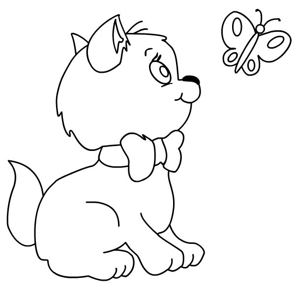 28 Best Cat Coloring Pages Images On Pinterest