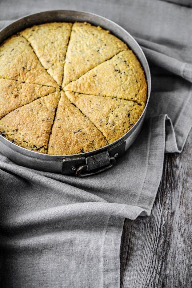 - VANIGLIA - storie di cucina: Scones con farina di mais per polenta e cioccolato...