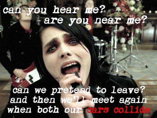 "My Chemical Romance, ""Helena"" | 28 WTF Emo Lyrics You Still Tried To Relate To"
