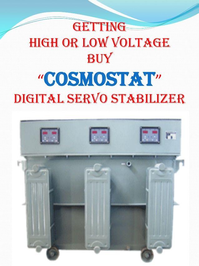 low or high voltage buy cosmostat servo stabilizer