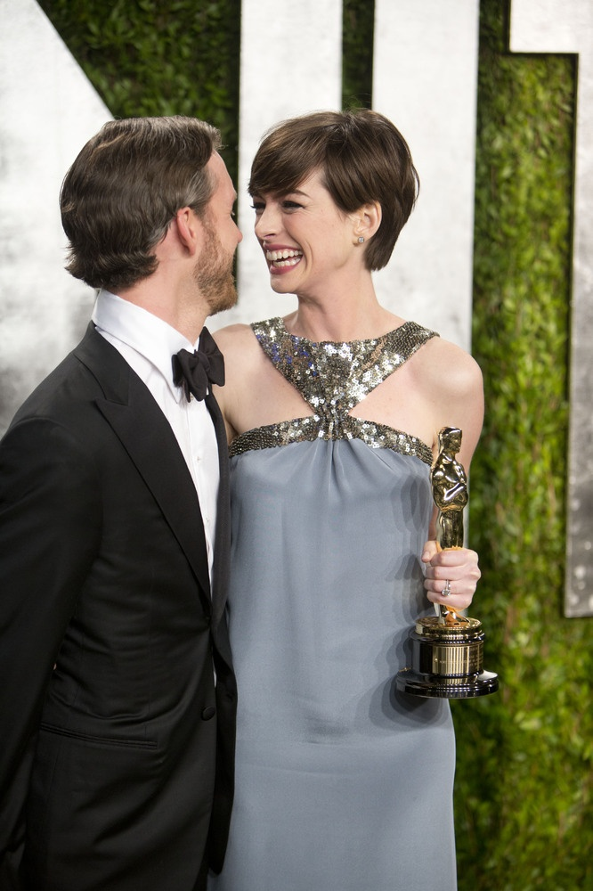 Anne Hathaway Oscar 2013 After Party