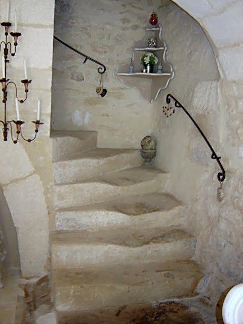 stairway,  stone