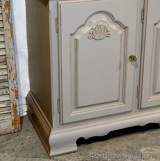 Painted Buffet For Bathroom Vanity Petticoat Junktion