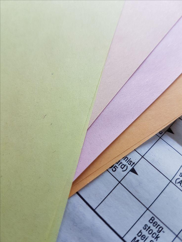 Druck auf farbigem Zeitungspapier - fragen Sie uns danach. Wir informieren Sie gerne.