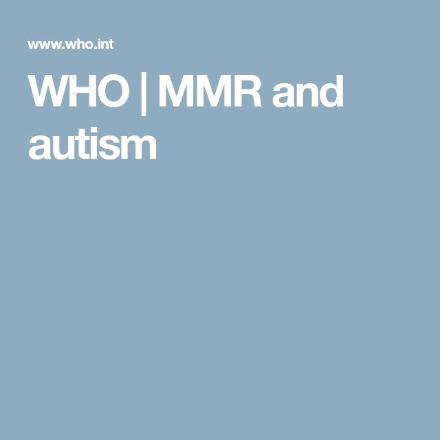 """WHO   MMR and autism """"Sono stati anche esaminati tre studi di laboratorio. Si è concluso che la presunta persistenza del virus del vaccino del morbillo nel tratto gastrointestinale dei bambini con autismo e malattia infiammatoria intestinale richiede ulteriori indagini attraverso studi indipendenti prima che i risultati di laboratorio degli studi pubblicati, che hanno gravi limitazioni, possano essere considerati confermati"""""""