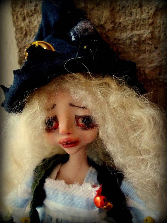 Pouppa Lupa/ art doll/ art/doll/polymer clay/handmade