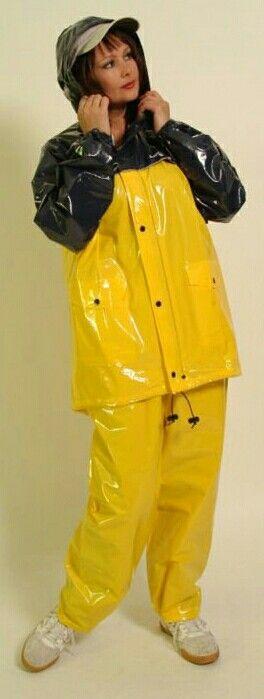 I love this rain suit