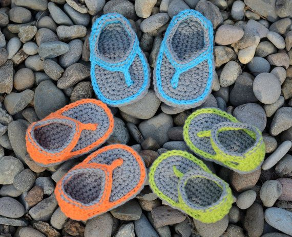 Crochet bébé garçon sandales, sandales Trekker, bébé garçon tongs, sandales garçon, cadeau
