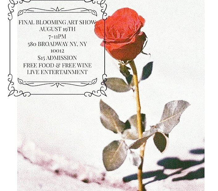 Come one come all 2 see some new works by me next weekend