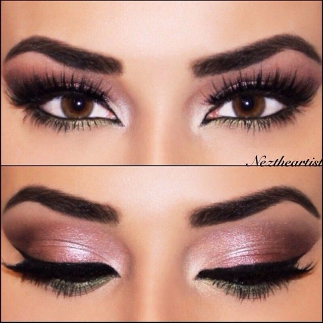 Beautiful Brunette To Outline The Shape Filled In With Brow Powder In Dark Brown EYES From My ...