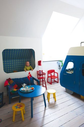 the boo and the boy: built-in kids' beds