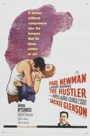The Hustler - Paul Newman - Mini Print