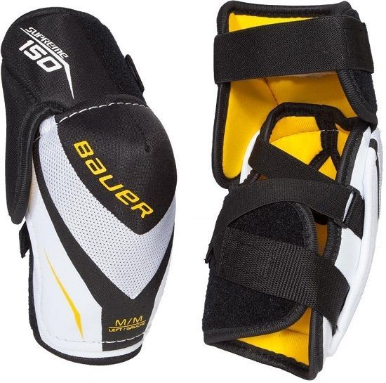 Bauer Supreme 150 Elbow Pads YTH Sizes   Sporting Goods, Ice Hockey, Pads & Guards   eBay!