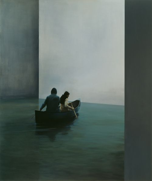 red-lipstick:  Tim Eitel (b. 1971, Leonberg, Germany) - Boat,...