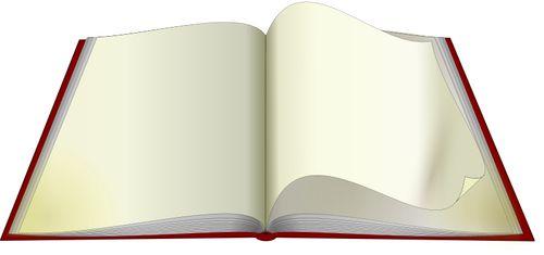Gráficos de vetor de livro aberto