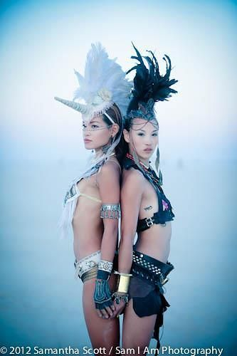 Burning Man. Awesome look for the festivities. Welcome to the thunderdome.