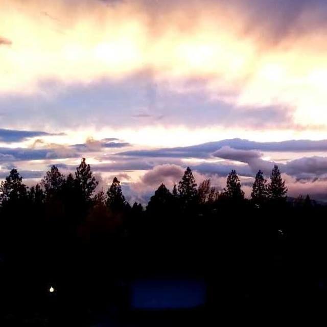 breath-taking skies